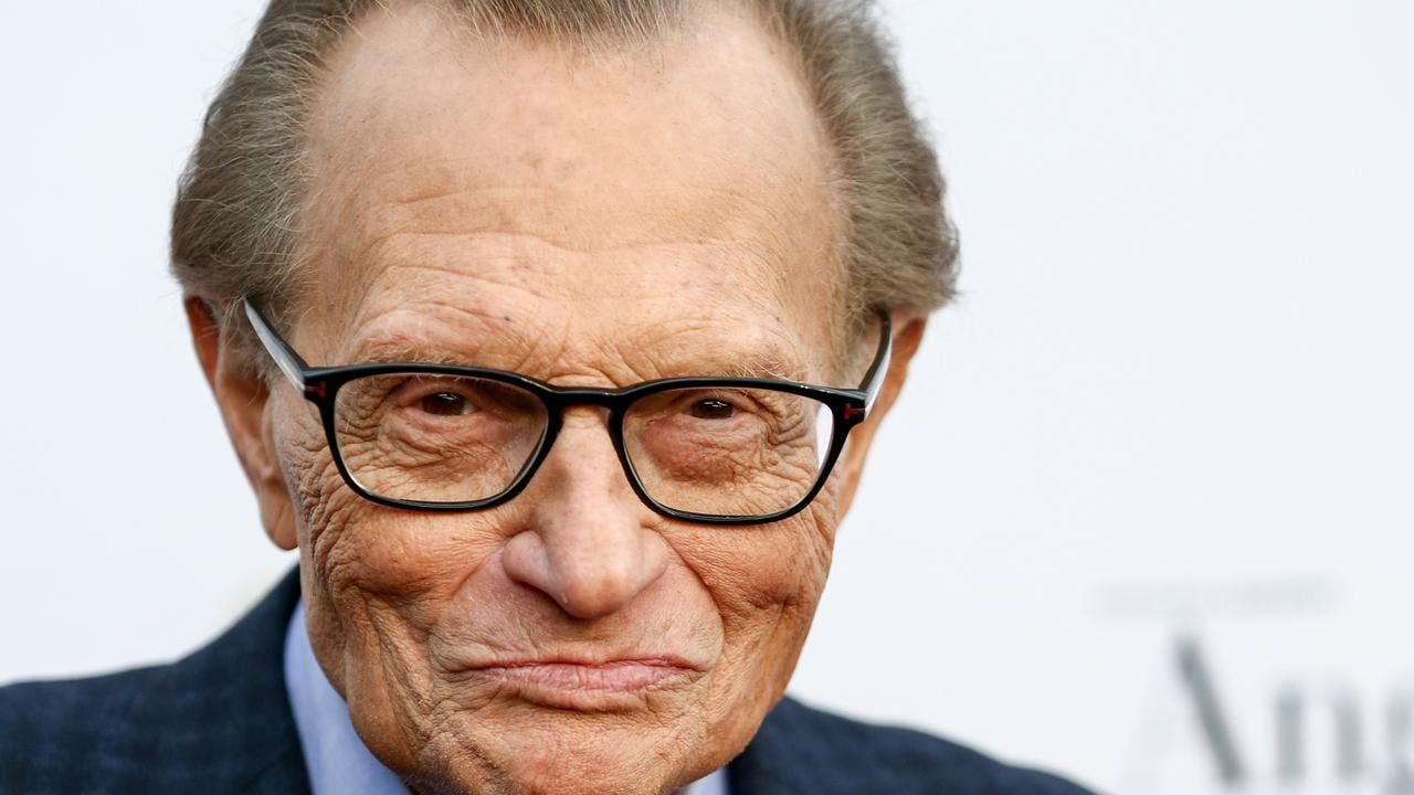 Larry King has died, aged 87