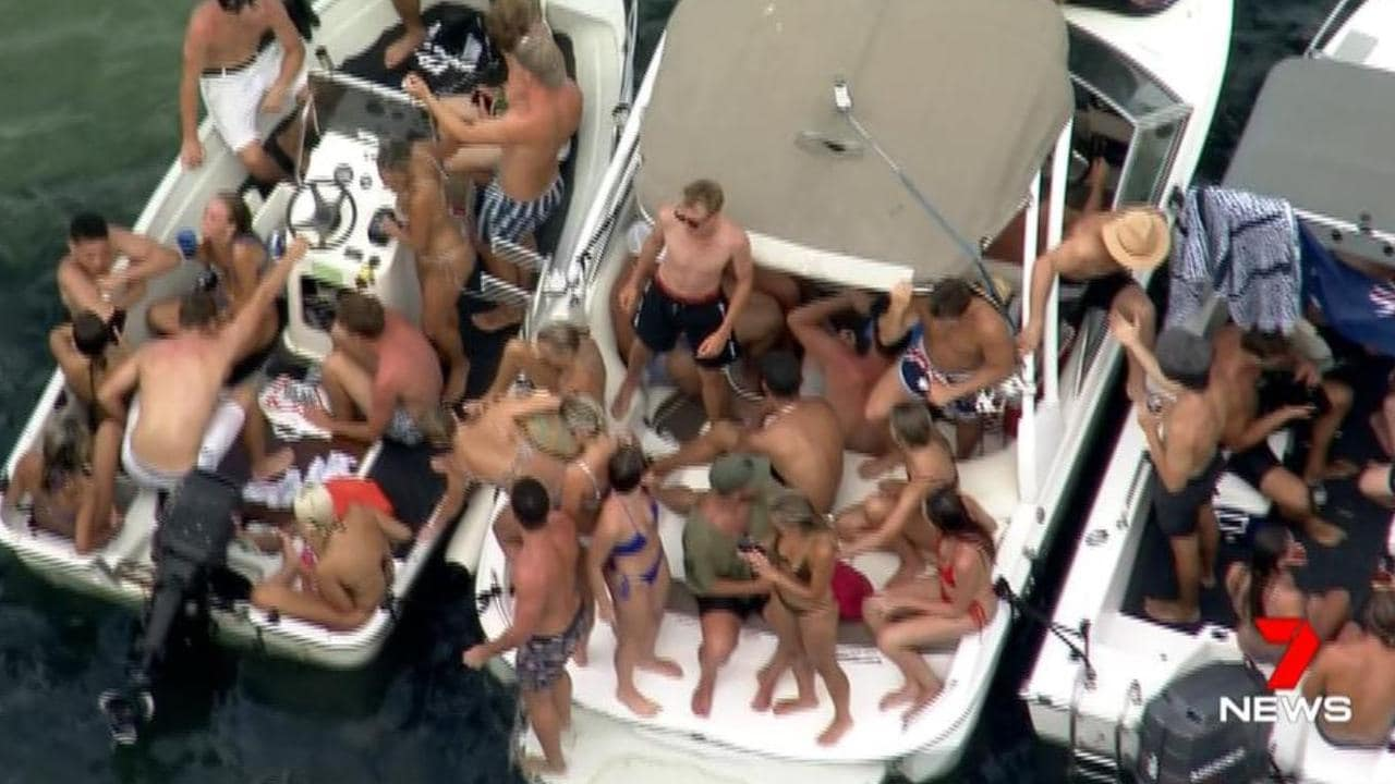 Lilli Pilli Australia Day party broken up by police
