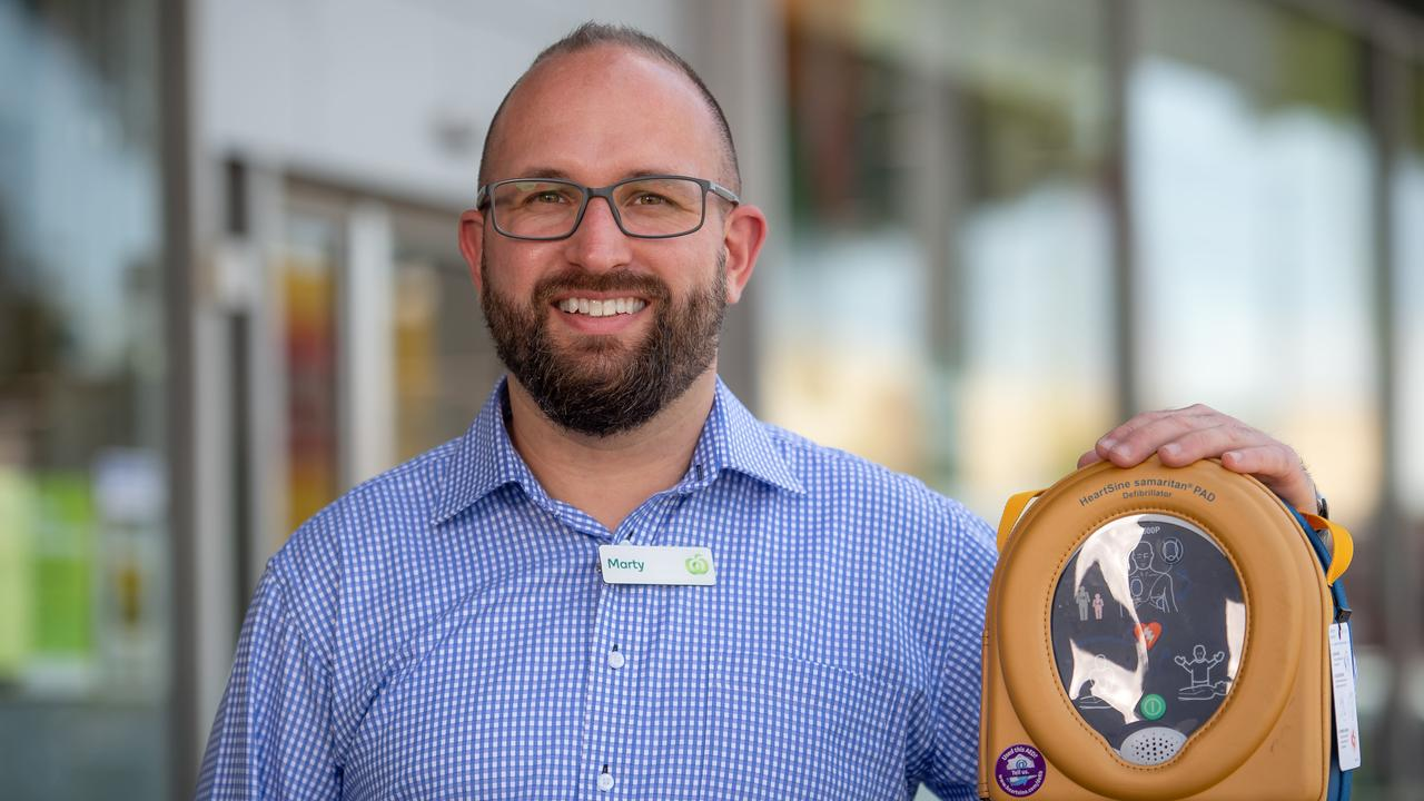 Woolworths supermarket manager Marty Murtagh gets Thanks A Million nomination after saving a life