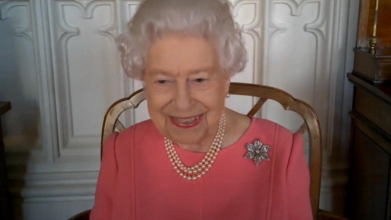 Queen pays tribute to Prince Philip amid health battle during live video call