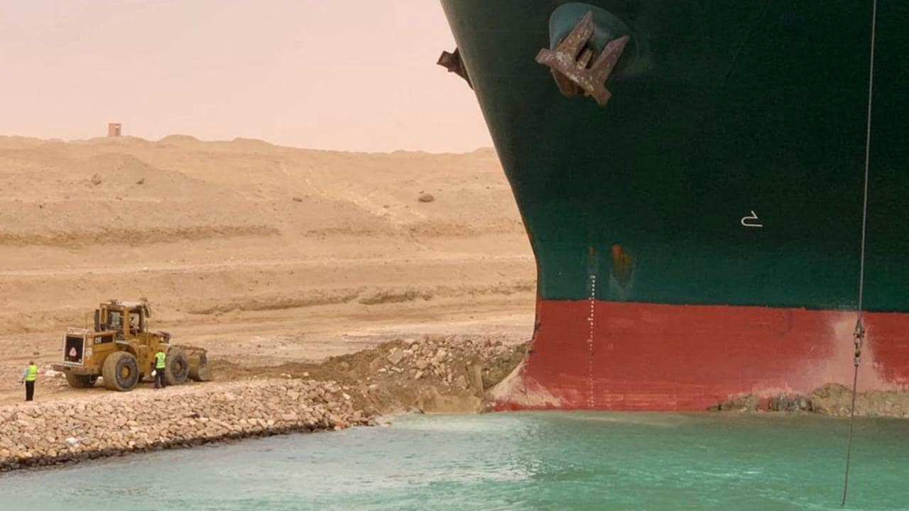 Suez Canal cargo ship Ever Given stuck: When will it move?