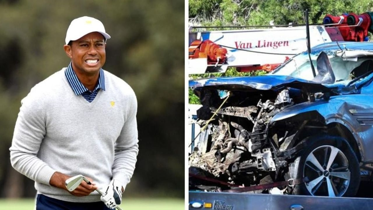 Tiger Woods responds to PGA Tour golfers wearing red and black tribute
