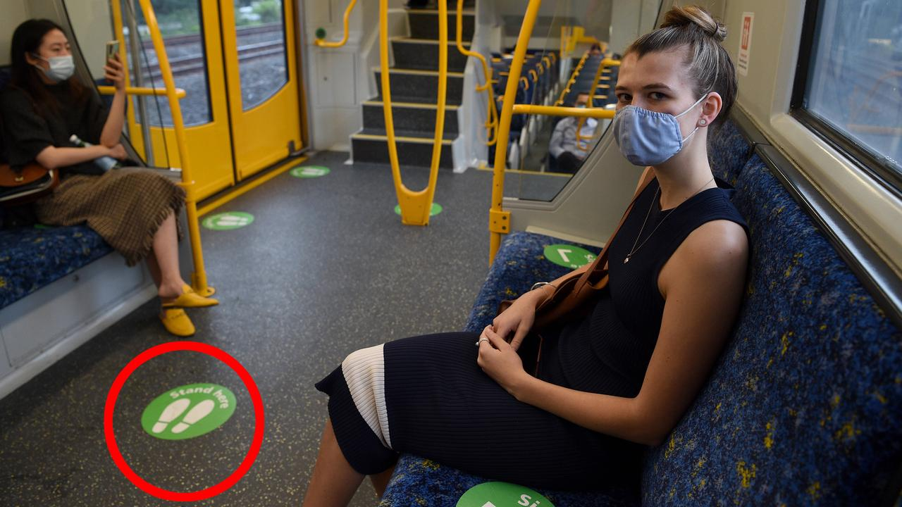 Green dots on Sydney trains to be scrapped from Monday, government says