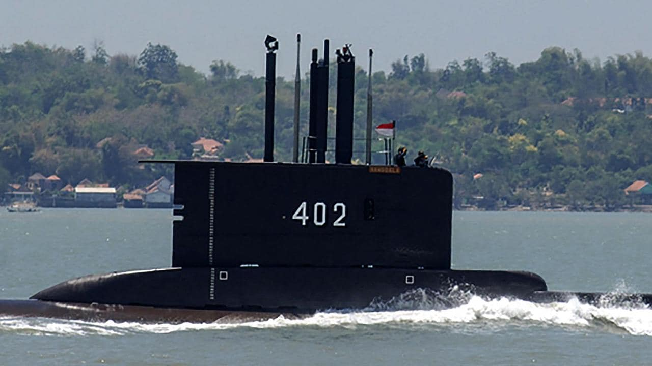 Australia joins search for missing Indonesian submarine