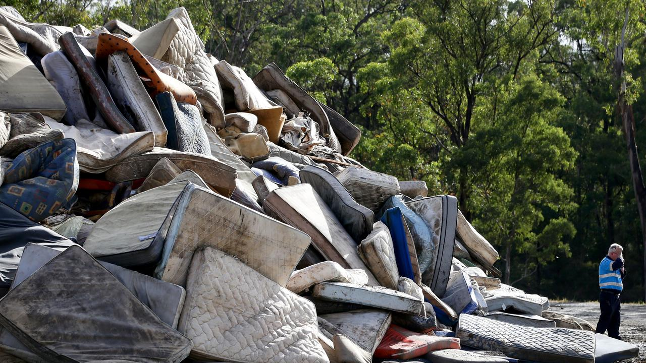 Photos show shocking scale of waste and debris