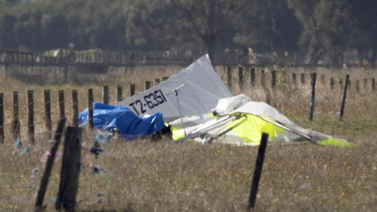 man dead in aircraft crash